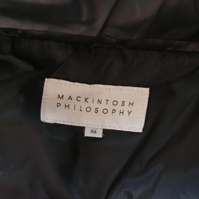 DEUXIEME CLASSE(ドゥーズィエムクラス)の❤️美品❤️ 【MACKINTOSH ロングダウン】着丈104 レディースのジャケット/アウター(ダウンコート)の商品写真