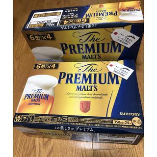 サントリー(サントリー)のプレミアムモルツ 24缶×2ケース(ビール)