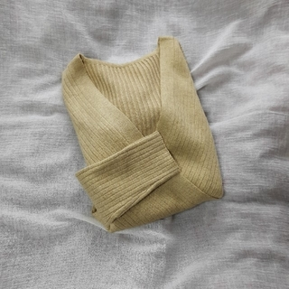 ロキエ(Lochie)のリブニットセーター(ニット/セーター)