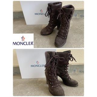 モンクレール(MONCLER)のMONCLERモンクレール スエードブーツ(ブーツ)