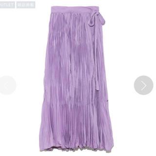 ミラオーウェン(Mila Owen)のミラオーウェン 巻きスカート(ロングスカート)