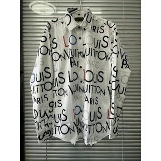 LOUIS VUITTON - お勧め LVルイヴィトン ワイシャツ  シャツ メンズ L