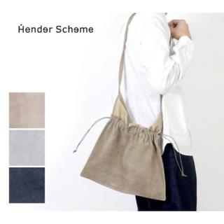 エンダースキーマ(Hender Scheme)のHender Scheme  red cross bag big ベージュ(ショルダーバッグ)