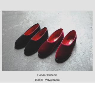 Hender Scheme - Hender Scheme velvet fabre