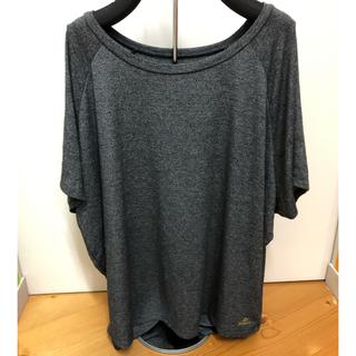 キスマーク(kissmark)のほぼ新品☆キスマーク☆シンプルTシャツ☆Lサイズ(ヨガ)