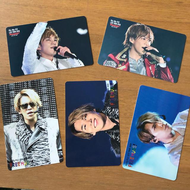 Kis-My-Ft2(キスマイフットツー)の千賀健永 カード FREE HUGS yummy エンタメ/ホビーのタレントグッズ(アイドルグッズ)の商品写真