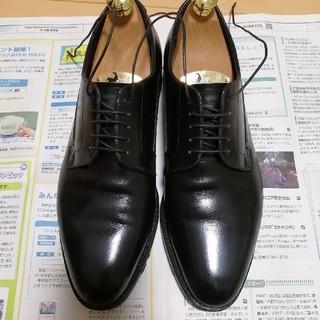 シェットランドフォックス インバネス プレーントゥ ブラック(ドレス/ビジネス)