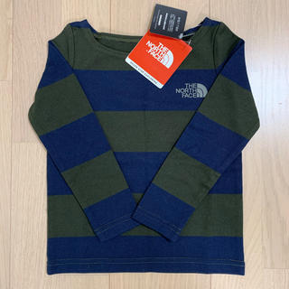 THE NORTH FACE - THE NORTH FACE ノースフェイス ロンT 長袖 100 新品