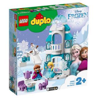 Lego - 専門価格!レゴ (LEGO) デュプロ アナと雪の女王 光る!アイスキャッスル