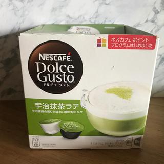 ネスレ(Nestle)のネスカフェドルチェグスト カプセル 宇治抹茶ラテ(茶)
