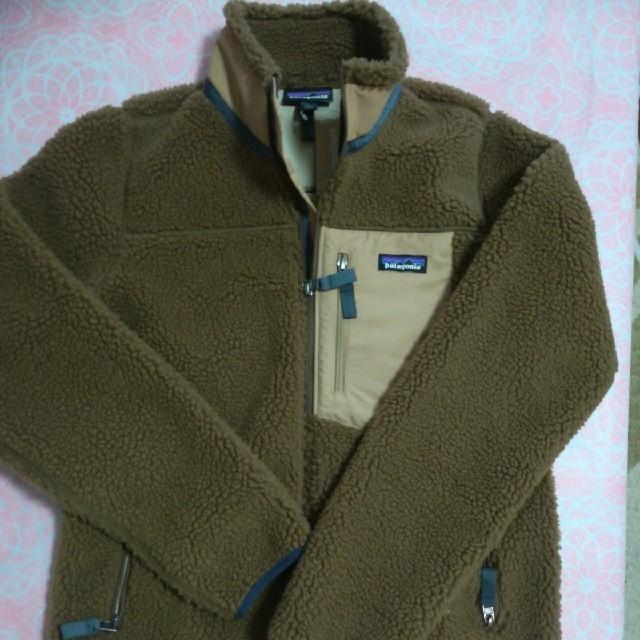 patagonia(パタゴニア)のパタゴニア レトロX  ボア ジャケット ブルゾン ブラウン サイズM レディースのジャケット/アウター(ブルゾン)の商品写真