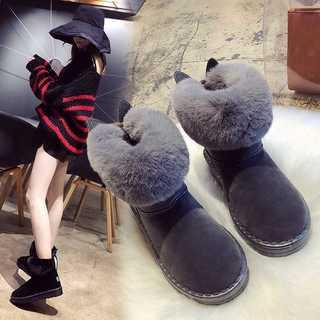 ♡ラブリー♡お耳付 ムートン ブーツ(ブーツ)