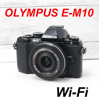 OLYMPUS - ❤️Wi-Fi搭載❤️電動ズーム❤️OLYMPUS E-M10