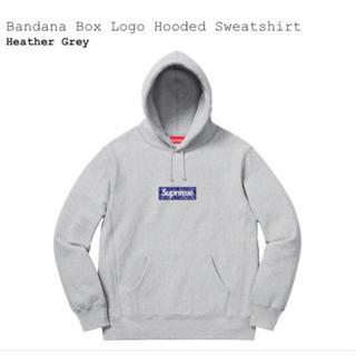 Supreme - Bandana Box Logo Hooded Sweatshirt