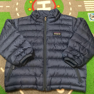 patagonia - patagonia パタゴニア キッズ ダウン 2T 90size