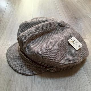 新品タグ付き!ウールキャスケット ツイードキャスケット キャスケット 帽子