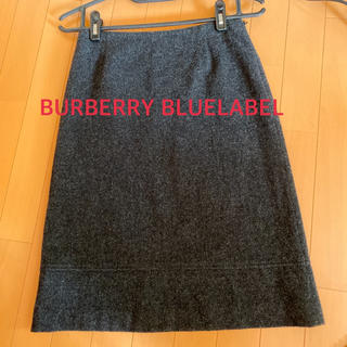 バーバリーブルーレーベル(BURBERRY BLUE LABEL)のバーバリー ブルーレーベル ひざ丈スカート(ひざ丈スカート)