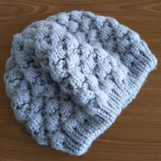 MERCURYDUO - ベレー帽 ニット帽 グレー