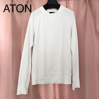 BEAMS - ATON スウェットシャツ