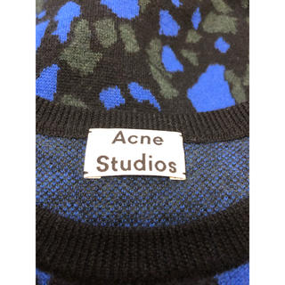 アクネ(ACNE)のACNE STUDIOS(アクネ ストゥディオズ)  総柄デザインニットセーター(ニット/セーター)