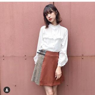 ティティアンドコー(titty&co)のtitty&Co サイドプリーツスカート(ミニスカート)