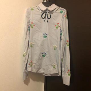 カルヴェン(CARVEN)のvivetta 刺繍シャツ(シャツ/ブラウス(長袖/七分))