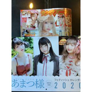 白泉社 - ヤングアニマル24号 あまつ様フェティッシュカレンダー