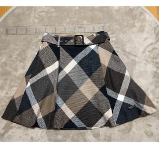 バーバリーブルーレーベル(BURBERRY BLUE LABEL)のBURBERRY チェック ミニスカート(ミニスカート)