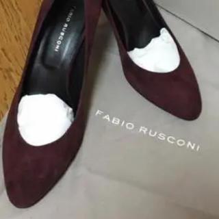 FABIO RUSCONI - 【新品】ファビオルスコーニ プレーンパンプス