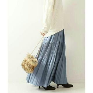 スピックアンドスパン(Spick and Span)の【新品・未使用】ブルーのスカート(ロングスカート)