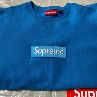シュプリーム(Supreme)のsupreme 18aw Box Logo Crewneck(スウェット)