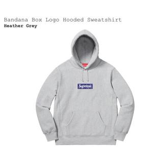 シュプリーム(Supreme)のBandana Box Logo Hooded Sweatshirt (スウェット)