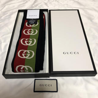 Gucci - 【新品未使用 】GUCCI グッチ ソックス lostongey GG