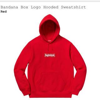 シュプリーム(Supreme)のSupreme Bandana Box Logo Red S(パーカー)