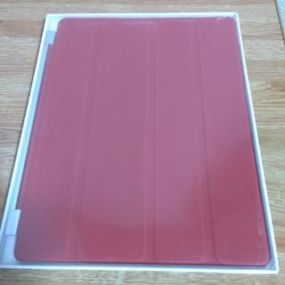 Apple - 純正 iPad スマートカバー レザーレッド MD304FE/A