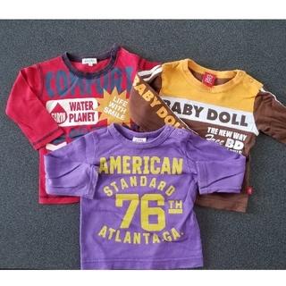 ベビードール(BABYDOLL)の男の子 サイズ80 まとめ売り(Tシャツ)