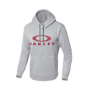オークリー(Oakley)のオークリー エンハンス テクニカル フリース フーディー グレー S(パーカー)