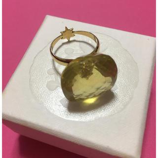 アッシュペーフランス(H.P.FRANCE)のimago イマゴ シトリンリングk18 アッシュペーフランス マリーエレーヌ (リング(指輪))