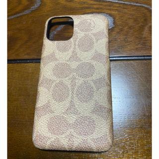 ケイトスペードニューヨーク(kate spade new york)の🎄【iPhone 11Pro】COACH レザーケース🎄(iPhoneケース)