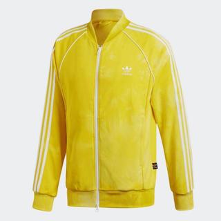 アディダス(adidas)のadidas ファレルウィリアム トラックジャケット イエロー Sサイズ(ジャージ)