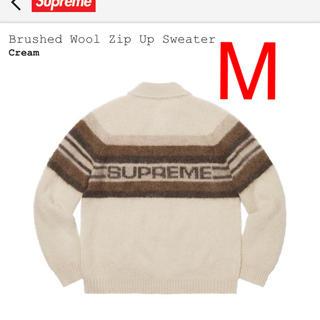 Supreme - Supreme Brushed Wool Zip Up Sweater Mサイズ