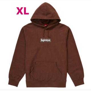 シュプリーム(Supreme)のXL ブラウン Bandana Box Logo Hooded(パーカー)