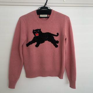 グッチ(Gucci)のGUCCI ピンク パンサーニット(ニット/セーター)