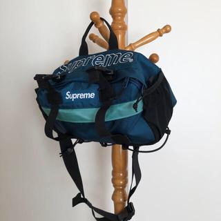 Supreme - Supreme Waist Bag Dark Teal 2019AW