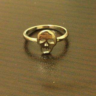ウィゴー(WEGO)の美品 WEGOドクロリング (リング(指輪))