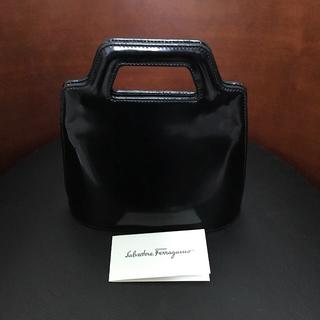 フェラガモ(Ferragamo)のFerragamo フェラガモ ハンドバッグ ブラック(ハンドバッグ)