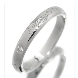 ティファニー(Tiffany & Co.)のvie animee様用 大幅値下げ!ティファニー ダイヤ ノーツ リング(リング(指輪))