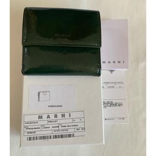 マルニ(Marni)のマルニ パテントレザー財布(財布)