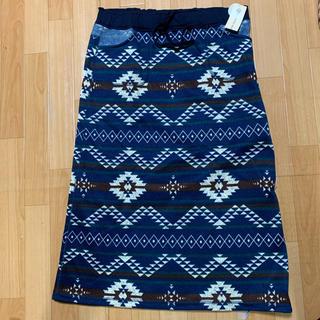 新品タグ付き リバーシブルスカート LLサイズ(ロングスカート)
