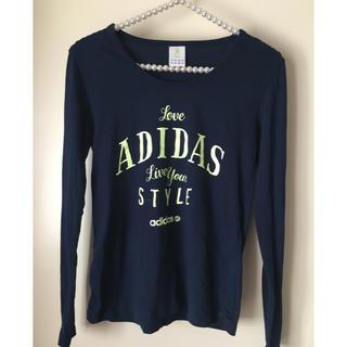 アディダス(adidas)の💕アディダス レディース  長T  (Tシャツ(長袖/七分))